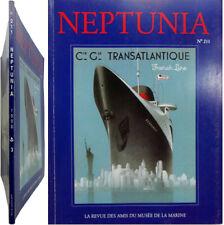 Neptunia n°211 1998 Marine Suffren paquebot transatlantique Normandie De la Rose