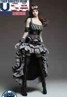 "SUPERDUCK 1/6 Steampunk Costume Dress Set For 12"" PHICEN TBL Verycool Figure USA"