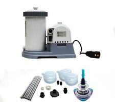 INTEX 2500 GPH Krystal Clear Swimming Pool Filter Pump w/ GCFI & V-Trap Vacuum