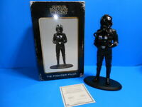 Star Wars 2006 A New Hope Attakus Tie Fighter Pilot Statue ~ #1313/1500