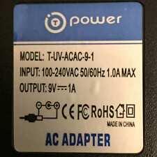 Power T-UV-ACAC-9-1 ac adapter