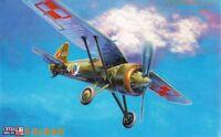 PZL P.11 C - WW II FIGHTER (POLISH AF & SOVIET AF MARKINGS)#B08 1/72 MISTERCRAFT