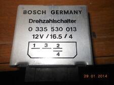 RELAYS timer BMW Serie 3 78 DREHZAHLSCHALTER BOSCH 0335530013 SILVER 4 pin