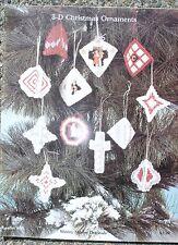 Plastic Canvas Needlpoint pattern books for Christmas