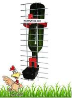 Bottle Holder Drinker Chicken Quail Bird Cage Auto cup Chick Budgie Finch Parrot