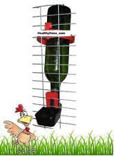 PORTABOTTIGLIE Bevitore di Pollo Quaglia Bird Cage Auto Coppa Chick Budgie Pappagallo Finch