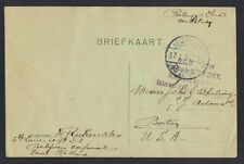 NETHERLAND BELGIUM 1916 PRISONER OF WAR A BELGIAN CORPORAL INTERNED IN HOLLAND
