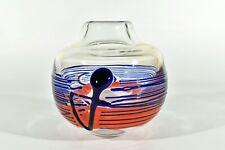 Ludwig MOSER Karlsbad Glas Vase ° Design Jiri Suhajek ° czech glass Objekt