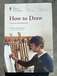 """""""How to Draw"""" David Brody Course + Guidebook The Great Courses 6 DVD Set-Sealed"""