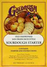 Gold Rush Old Fashioned San Francisco Style Sourdough Bread Starter 0.5 Ounce...