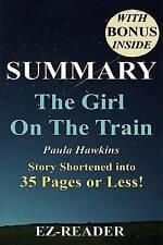 USED (VG) Summary of The Girl on the Train: Novel by Paula Hawkins -- Story Shor