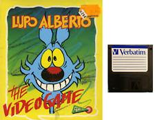 "LUPO ALBERTO : floppy disc 3,5"" Commodore Amiga backup game disk (READ)"