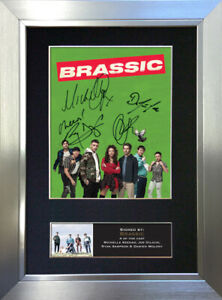 BRASSIC Signed Autograph Mounted Reproduction Photo Print A4 814