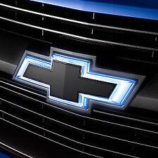 84154346 2017-18 Chevrolet Colorado OEM Black Illuminated Grille Bowtie Set NEW