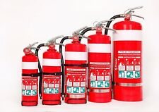 Fire Extinguishers Dry Chemical Powder(ABE) 1kg, 2.5kg, 4.5kg & 9kg.