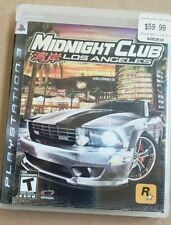 Midnight Club: Los Angeles (Sony PlayStation 3, 2008)  Fast Shipping  Racing PS3