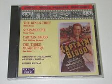 CAPTAIN BLOOD/SOUNDTRACK/ERICH WOLFGANG KORNGOLD(MARCO POLO8.223607)CD ALBUM NEU