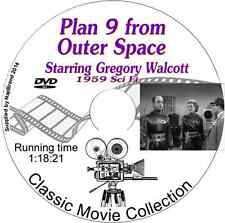 Plan 9 from Outer Space-  Gregory Walcott - Sci Fi Film on DVD 1959
