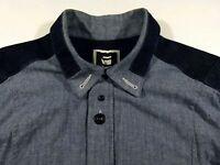 KL370 G-STAR RAW heavy jeans denim shirt overshirt size XL?, excellent+ cond!