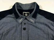 KL370 G-STAR RAW heavy jeans denim shirt overshirt size XL?, excellent+ cond!