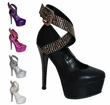 Unbranded Stiletto Clubwear Synthetic Shoes for Women