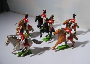 Britains Deetail  British Cavalry  Napoleonic Era #7959  1972  Waterloo Hussars