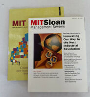 Mit Sloan Management Review Magazine Winter 2001 & MIT Sloan Winter 2011 Thurow