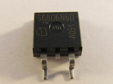 5 pezzi sgb06n60-e3045a Infineon quasi IGBT 600v 6a d²pak - ae24/2937