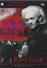 2 DVD russian KING LEAR KÖNIG LEAR КОРОЛЬ ЛИР Ruscico  engl de it fr Subtitles