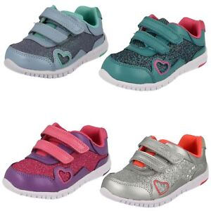 Infant Girls Clarks First Trainers - Azon Maze