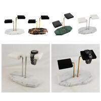 Langlebige Marmoruhr Display Standhalter Holder Organizer Armband Stirnband Rack