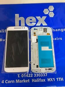 100% Original Complete WITH FRAME LCD Screen For Motorola Moto G4 4TH Gen XT1620
