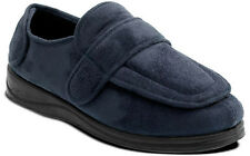 LADIES PADDERS ENFOLD EE EXTRA WIDE WARM WINTER STRAP SLIPPERS SHOES,SIZES 3-9