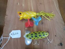 Hula Popper & other junk fishing lures (lot#16216)
