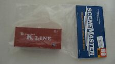 """Walthers HO 20' Container with Flat Panel """"K"""" Line #949-8013 New in Package"""