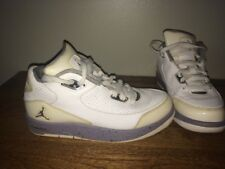 Air Jordan size 4.5Y White and Gray After the Game Style 2010 Basketball Shoes