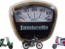 Lambretta GP SX Speedometer 100 Kmph Italian Thread S2u