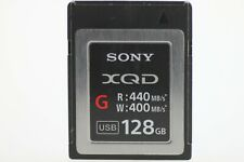 Sony Memory Card XQD G 128GB USED Excellent Condition