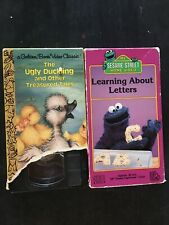 Locked Up To The Ugly Duckling And Sesame Street Vhs V27