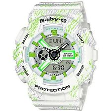 CASIO BABY-G WATCH SNEAKER PATTERN BA-110TX-7A FREE EXPRESS WHITE BA-110TX-7ADR