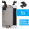 For iPhone 5S LCD Display Screen Digitizer Replacement + Home Button+Camera AAA+
