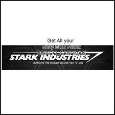 "Fridge Fun Refrigerator Magnet STARK INDUSTRIES ""LOGO-A"" Comic Book Iron man"