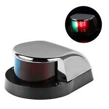 Boat Marine LED Navigation Light Lamp for Pontoon Yacht Chrome Plated Zinc Shell