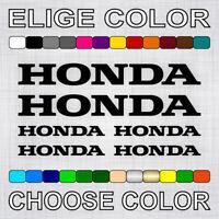 PEGATINAS HONDA X6 vinilos moto decal aufkleber autocollant adesivi sticker