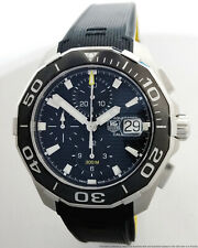 Tag Heuer CAY211A-0 Chronograph Mens Divers Watch Cool Rubber Strap