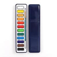 Aquarellkasten Aquarellfarben Aquarellfarbkasten Solid/Set/12/Farben/Pigment~