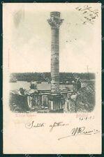 Brindisi città colonne romane postcard cartolina KF3387