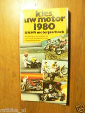 1980 KIES UW MOTOR MOTORCYCLE MODELS DUTCH MARKET,APRILIA,BENELLI,DUCATI,GUZZI,M