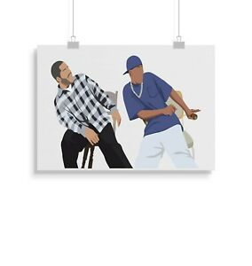 Friday, Ice Cube, movie, Print, Poster, Wall Art, Gifts, Home Decor