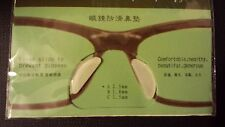 Glasses sticky nosepads/ Anti-Slip Silicone Adhesive stick on Nose Pads,3 pairs